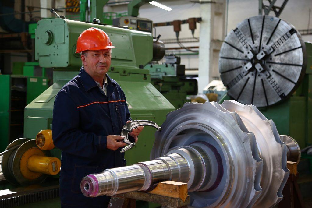 Контроль ротора центробежного нагнетателя