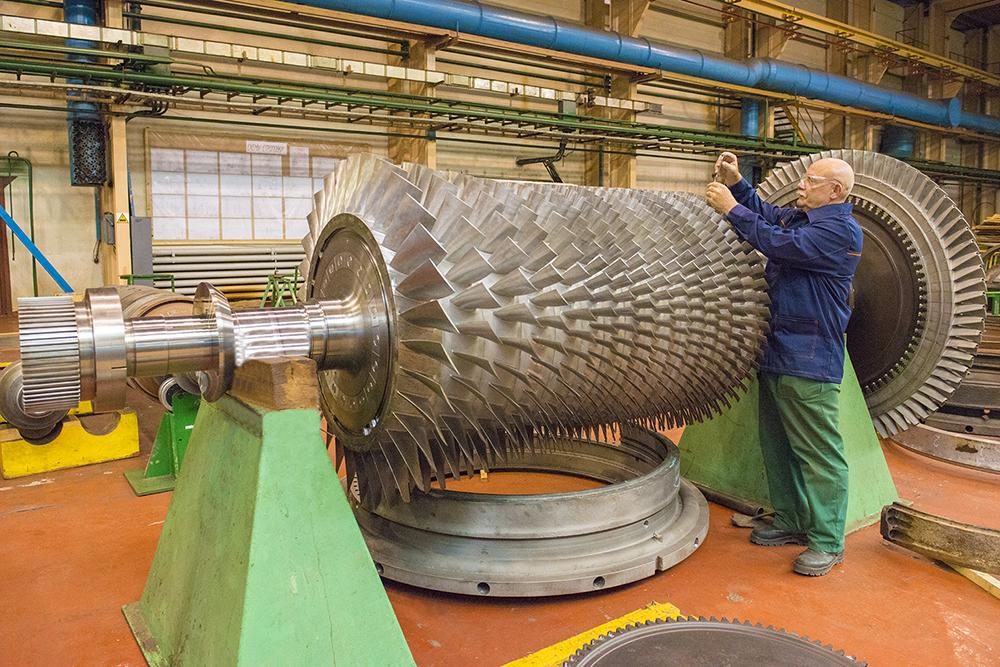 Ротор ОК и ТВД ГТК-25И